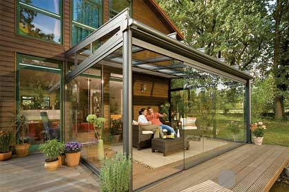 Glass Rooms | Awnings and Canopies